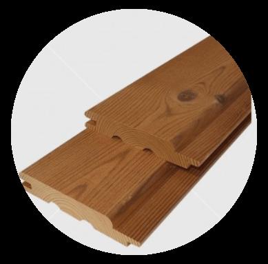 Knorrigen Wärmebehandelten  (thermowood) finnische Wald Kiefertäfelung 15x93mm l langpolirt