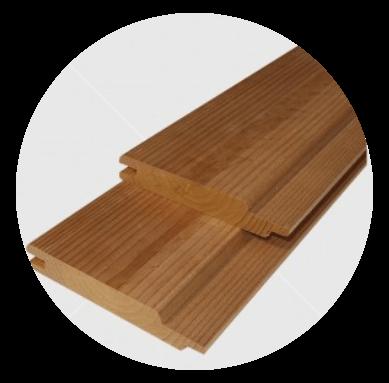 Knorrigen Wärmebehandelten  (thermowood) finnische Wald Kiefertäfelung 15x92mm